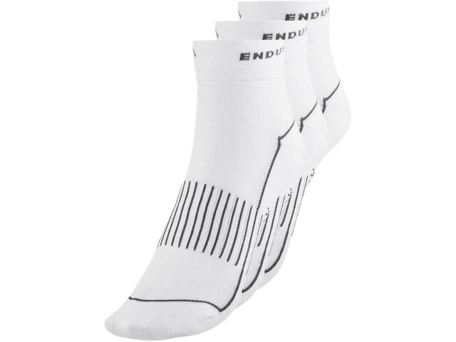 Endura Coolmax Race Socken Dreierpack Damen weiß